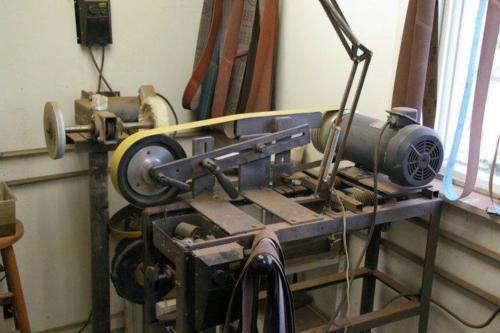 Home built grinder 3